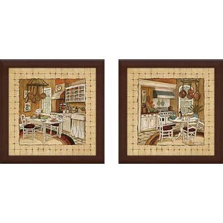 """Kitchen Delight"" Wall Art Set of 2, Matching Set"