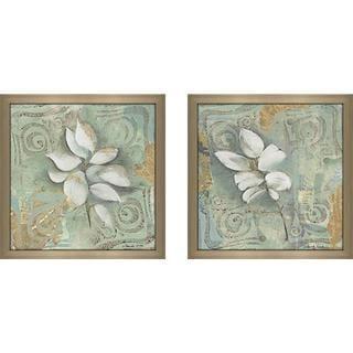 """Still Water Reflections"" Wall Art Set of 2, Matching Set"