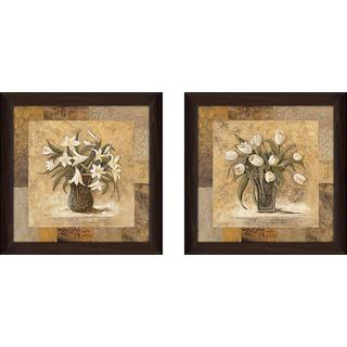 """Gold Mine"" Wall Art Set of 2, Matching Set"