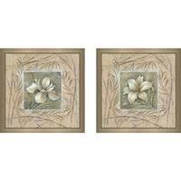 """""""Spa Lily"""" Wall Art Set of 2, Matching Set"""