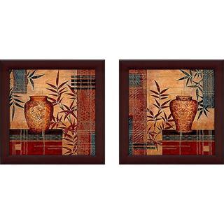 """""""Kyushu"""" Wall Art Set of 2, Matching Set"""