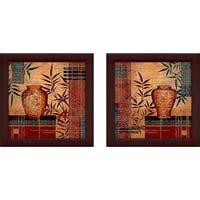 """Kyushu"" Wall Art Set of 2, Matching Set"