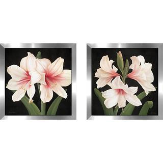 """""""Contemp Lily"""" Wall Art Set of 2, Matching Set"""