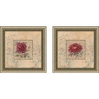 """Timeless Beauty"" Wall Art Set of 2, Matching Set"