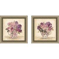 """Petite Bouquet"" Wall Art Set of 2, Matching Set"