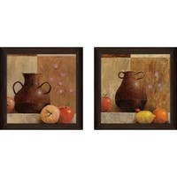 """La Loza"" Wall Art Set of 2, Matching Set"
