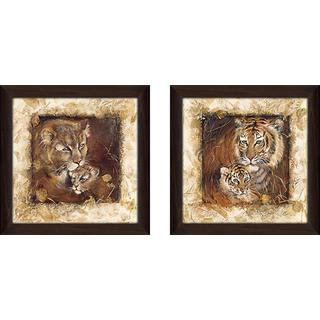 """""""Sweet & Tender"""" Wall Art Set of 2, Matching Set"""