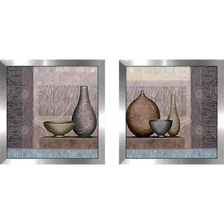 """Vase Collection"" Wall Art Set of 2, Matching Set"