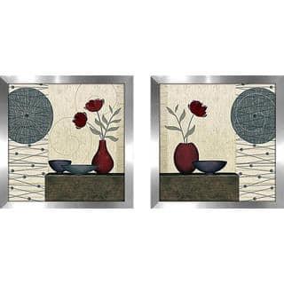 """Soliflore"" Wall Art Set of 2, Matching Set https://ak1.ostkcdn.com/images/products/15902979/P22307493.jpg?impolicy=medium"