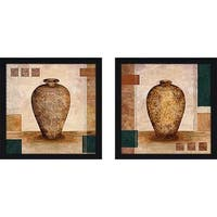 """Samarkand"" Wall Art Set of 2, Matching Set"