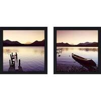"""Lake Shore IV"" Wall Art Set of 2, Matching Set"