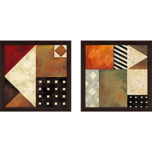 """""""Palermo II"""" Wall Art Set of 2, Matching Set"""