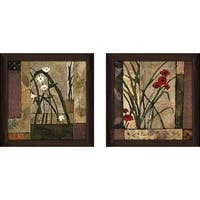 """Lilies"" Wall Art Set of 2, Matching Set"