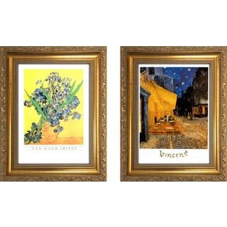 """""""Vincent Van Gogh II """" Mini Framed Art Set"""