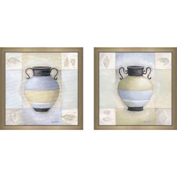 """""""Decorative Urn"""" Wall Art Set of 2, Matching Set"""