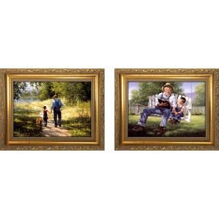 """Grandpa II "" Mini Framed Art Set"