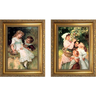 """Sweethearts "" Mini Framed Art Set"