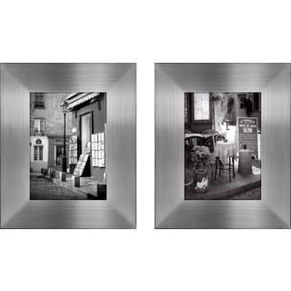 """La Terrasse "" Mini Framed Art Set"