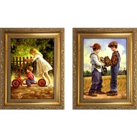 """Along For The Ride "" Mini Framed Art Set"