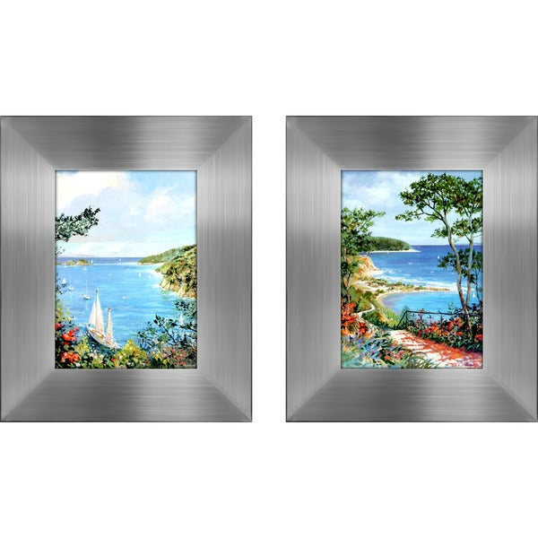 """Grand Walkway "" Mini Framed Art Set"