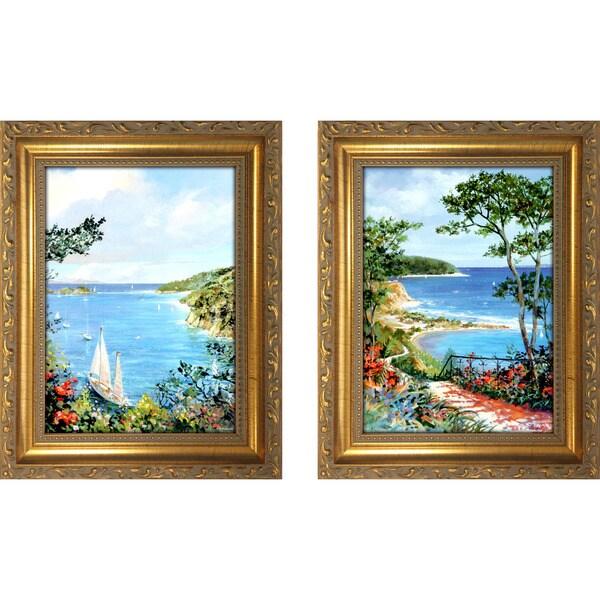 """""""Grand Walkway """" Mini Framed Art Set"""