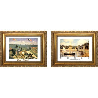 """""""Claude Monet 3 """" Mini Framed Art Set"""