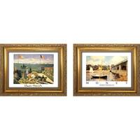 """Claude Monet 3 "" Mini Framed Art Set"