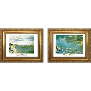"""Claude Monet I "" Mini Framed Art Set"