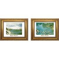 """""""Claude Monet I """" Mini Framed Art Set"""