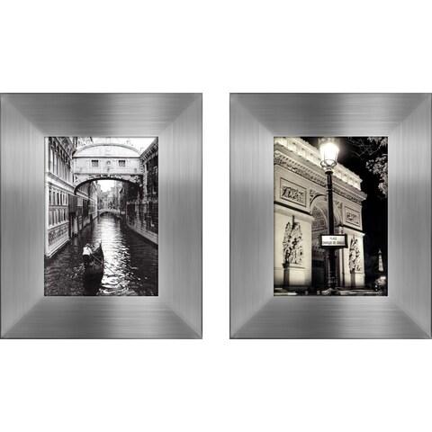 """Place Charles de Gaulle "" Mini Framed Art Set"