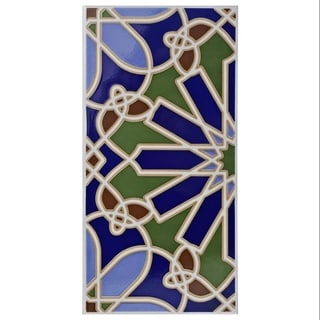 SomerTile 5.5x11-inch Dawson Alhambra Ceramic Wall Tile (25/Case, 11.23 sqft.)