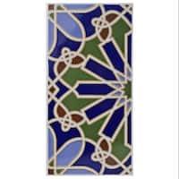 SomerTile 5.5x11-inch Dawson Alhambra Ceramic Wall Tile (25 tiles/11.23 sqft.)