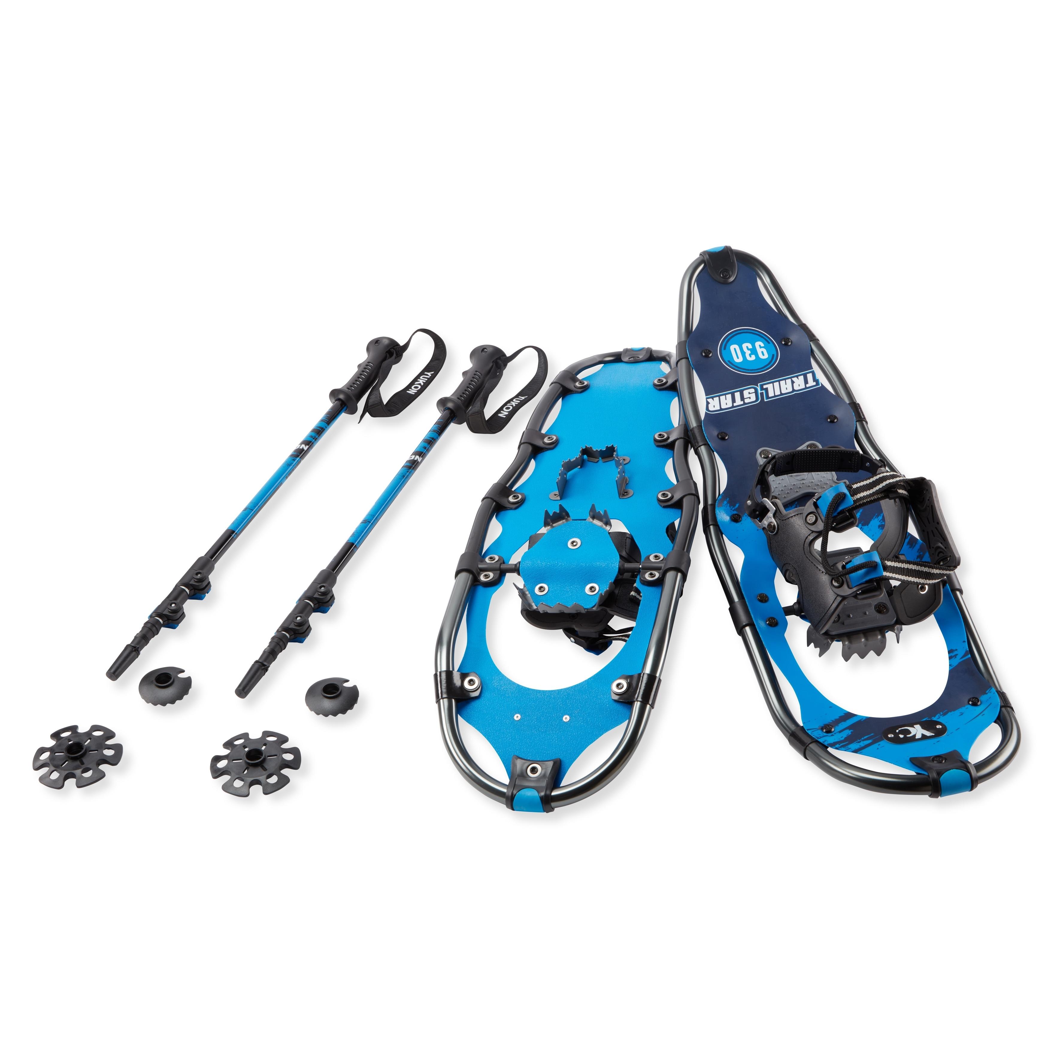 Yukon Charlie Trail Star Advanced Snowshoe Kit (Snowshoe ...