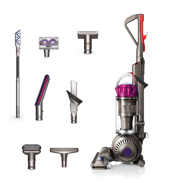 Captivating Dyson Fuchsia Ball Complete Animal Bagless Upright Vacuum (Refurbished) (As  Is Item)