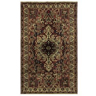 Herat Oriental Persian Hand-knotted Bakhtiari Wool Rug (5'4 x 8'6)