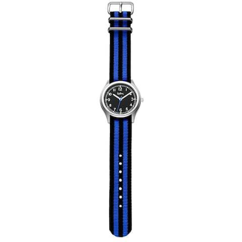 Kipling Kids Vintage Blue / Black Strap Quartz Watch