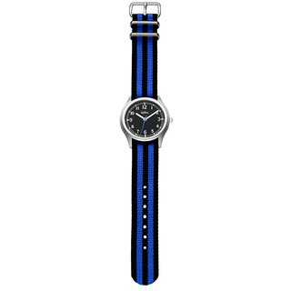 Kipling Kids Vintage Blue / Black Strap Quartz Watch