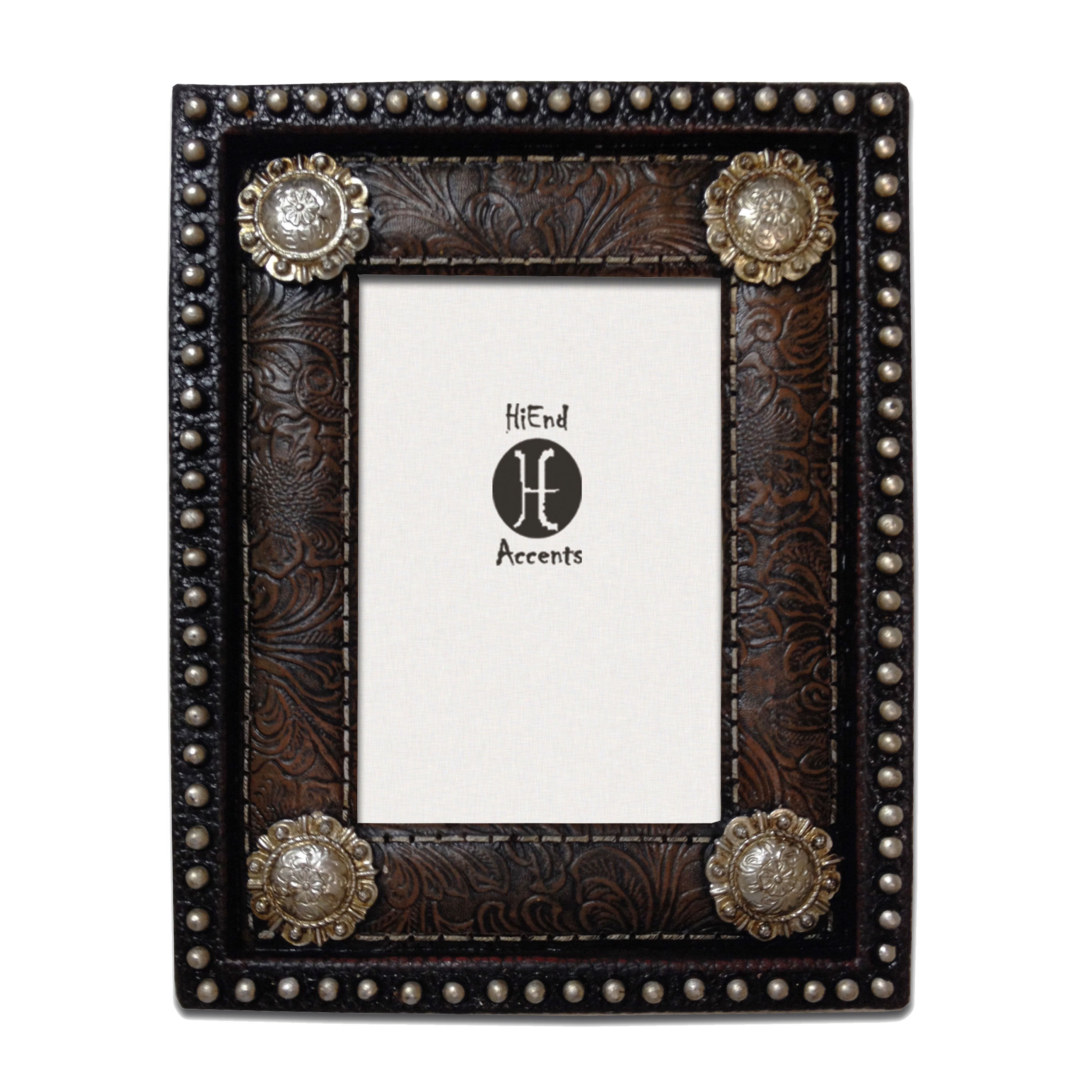 HiEnd Accents Studding And Conchos Frame (Ea) 4X6 (Frames...