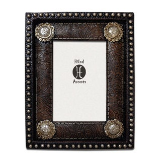 HiEnd Accents Studding And Conchos Frame (Ea) 4X6