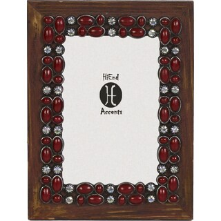 HiEnd Accents Red Stone Frame 4 X 6