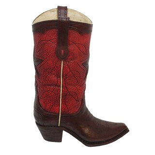 HiEnd Accents Star Boot Vase
