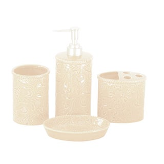 HiEnd Accents 4-piece Savannah Bathroom Set