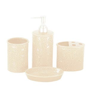 HiEnd Accents 4-piece Savannah Bathroom Set|https://ak1.ostkcdn.com/images/products/15905545/P22311117.jpg?impolicy=medium