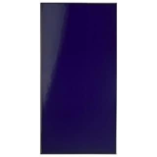SomerTile 5.5x11-inch Dawson Azul Liso Ceramic Wall Tile (25/Case, 11.23 sqft.)