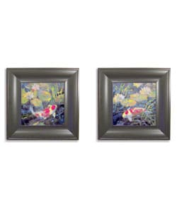 Water Garden by Ostlund Framed Art Collection