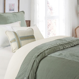 HiEnd Accents Arlington Velvet Duvet (Shams Not Included)