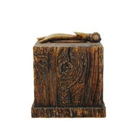 HiEnd Accents Antler Tissue Box