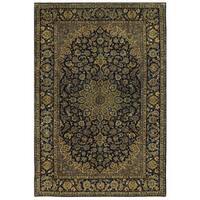 Handmade Herat Oriental Persian Isfahan Wool Rug - 9'7 x 14'4 (Iran)