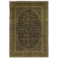Handmade Herat Oriental Persian Kashan Wool Rug - 10' x 14'9 (Iran)