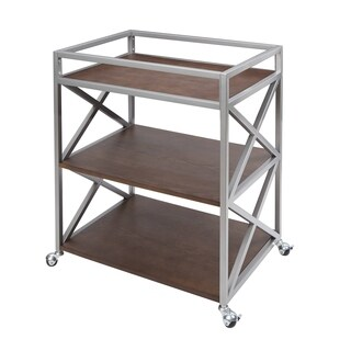 Maxwell 3 Tier Bar Cart by Silverwood